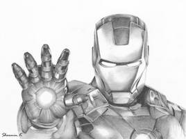 Iron Man by PickyPepper