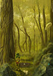 the elf forest guard by taurus0091