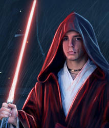 the young Darth Vader by taurus0091