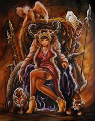 savge queen by denlapierre