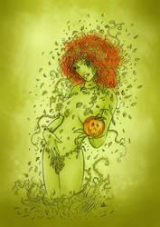 poison ivy by denlapierre