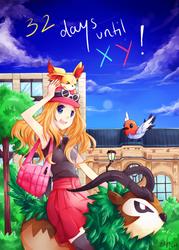 Pokemon X/Y Countdown Day 32 by eefi