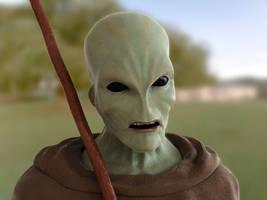 Alien Kesasar by SaiogaMan
