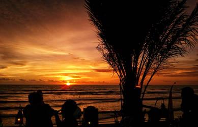 Kuta Sunset by SaiogaMan