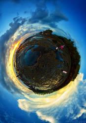 Tanah Lot Planet by SaiogaMan