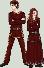 Dmytro and Hristina by gayahithwen