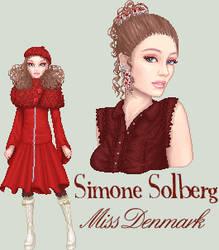 Miss Denmark, round 1 by gayahithwen