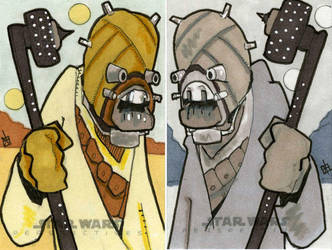 Star Wars Chrome Perspectives -Tusken Raider by 10th-letter