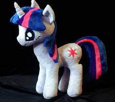 My Little Pony Twilight Sparkle Plushie by WhiteHeather
