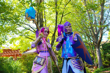 Cadance and Shining Armor cosplay 2015 by WhiteHeather