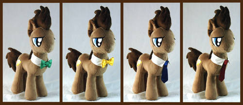 Doctor Whooves Ties by WhiteHeather
