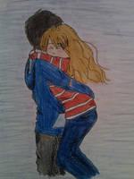 Seddie hug by cAreyjeRk