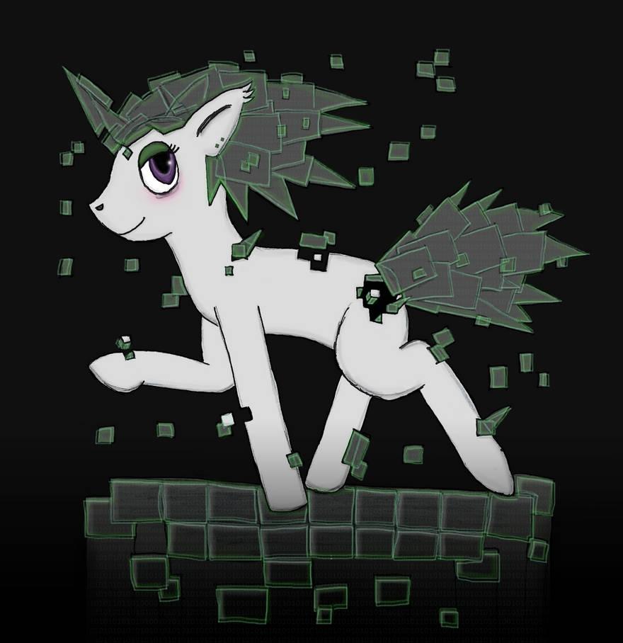 Cyber Digital Bug Pony by robbieagray