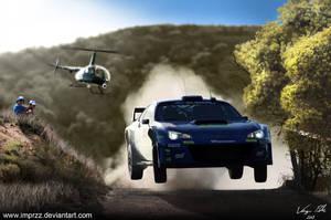 Subaru BRZ WRC by imprzz