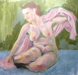 Sketch - warm skin tones by Descartes2