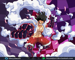 Gear 4 SNAKEMAN (One Piece Ch. 895) by bryanfavr