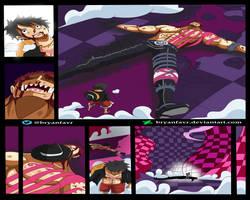 LUFFY VS KATAKURI FINAL (One Piece Ch. 896) by bryanfavr