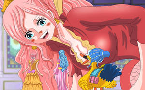 Rebecca, Vivi and shirahoshi (One Piece Ch. 906) by bryanfavr