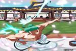 Zoro  (One Piece Ch. 909) by bryanfavr