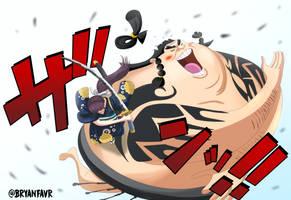 O-Kiku (One Piece Ch. 915) by bryanfavr