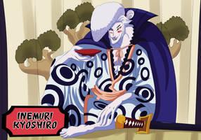 Inemuri Kyoshiro (One Piece Ch. 919) by bryanfavr