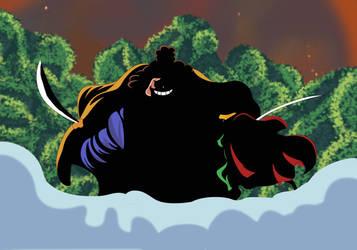 Oden vs Ashura Douji (One Piece Ch. 920) by bryanfavr