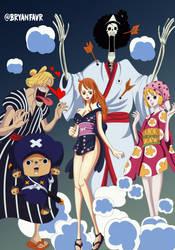 mugiwaras (One Piece Ch. 921) by bryanfavr