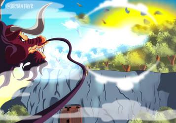 Heat Breath (One Piece Ch. 922) by bryanfavr