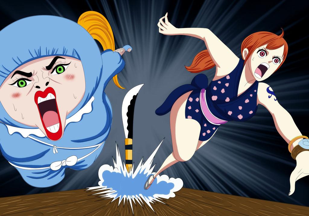 O-Namie and shinobu (One Piece Ch. 926) by bryanfavr