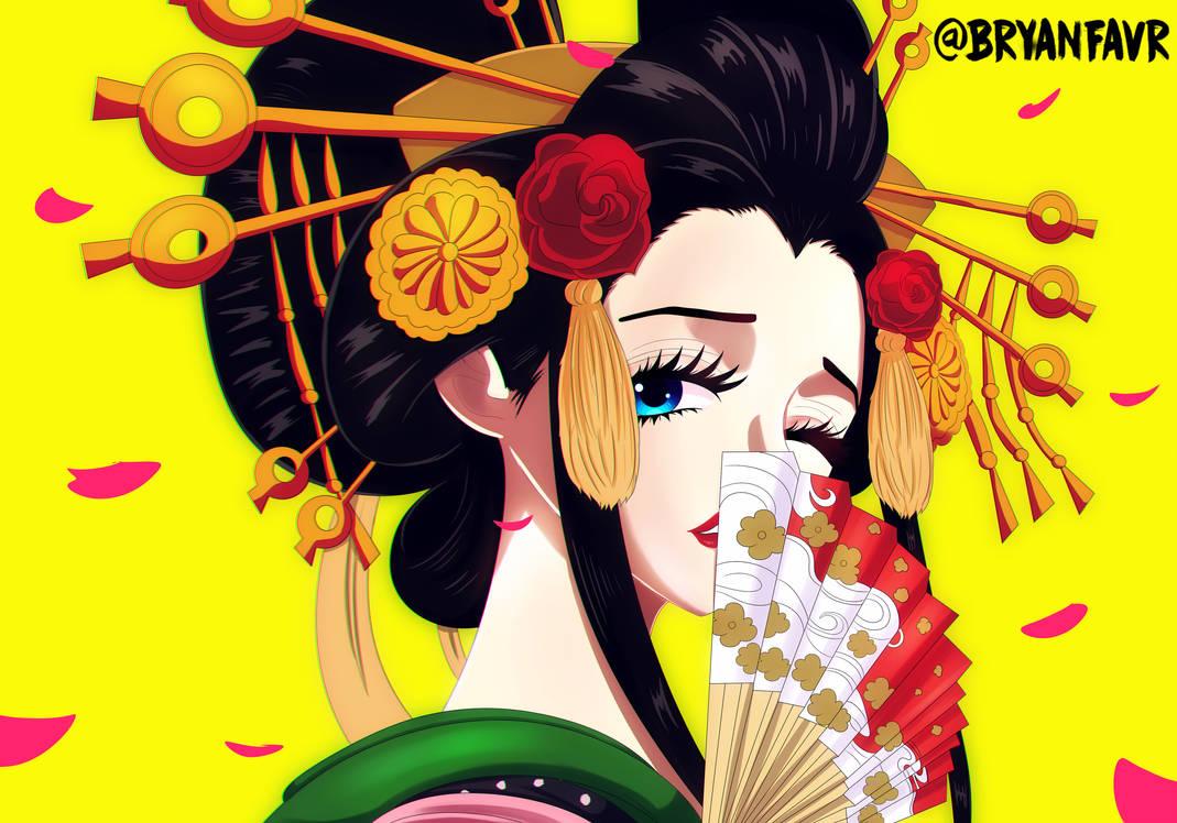 Komurasaki (One Piece Ch. 928) by bryanfavr