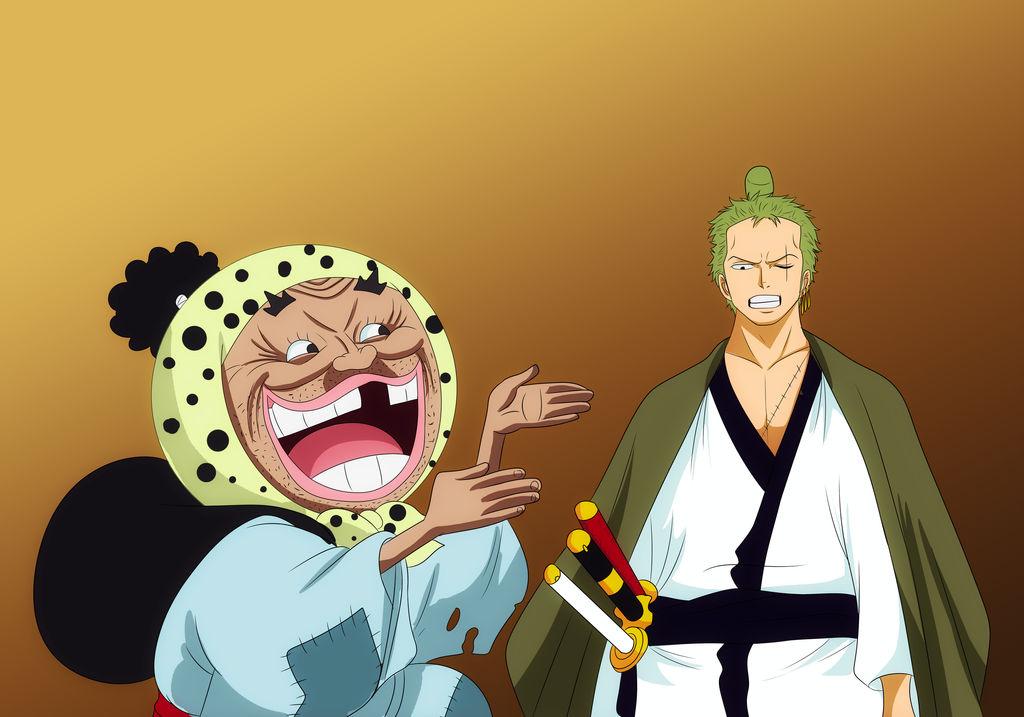 Zoro and tonoyasu by bryanfavr