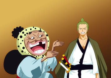Zoro and tonoyasu by bryanfavr