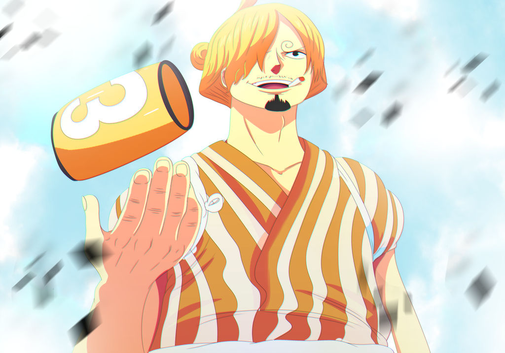 Sanji Raid Suit  (One Piece Ch. 930) by bryanfavr