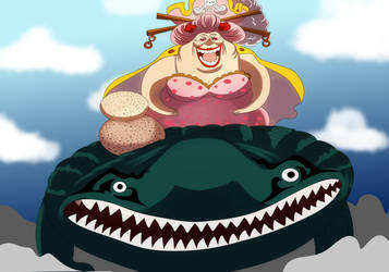 O-lin Big Mom (One Piece Ch. 934) by bryanfavr