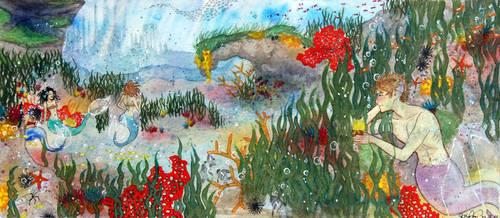 Underwater Love by bomgirl