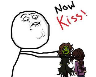 Namesake - NOW KISS by elfgrove