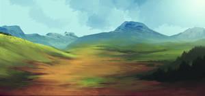 Foothills by Naviira
