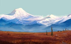 Autumn Tundra by Naviira