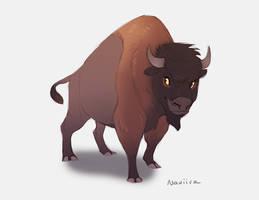 Boris the Bison by Naviira