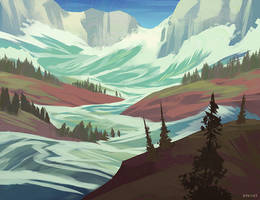 Highvalley: Ice Dam Break by Naviira