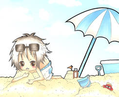 TM-Summer Time at the Beach by oOCreamyCupcakeOo