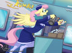 The Serving Six: High-Fly Fluttershy by Omny87