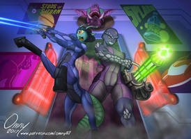 For Midnight-Cobra: Raid on the Space Saloon by Omny87