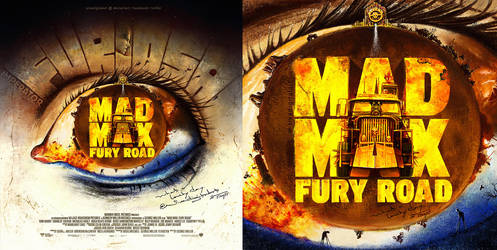 Mad Max: Fury Road | FanArt Poster by sivadigitalart