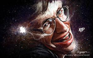 RIP Stephen Hawking! by sivadigitalart