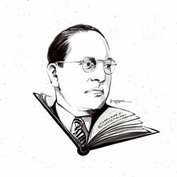 Dr Ambedkar  The father of the Indian Constitution by sivadigitalart