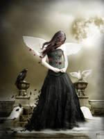Black Angel by Silvia15