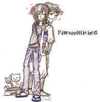 Gaia Art: Pineapplelicious by chaosmelon