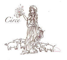 Circe by chaosmelon