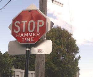 funny signs in newtown. by artbyangelaa